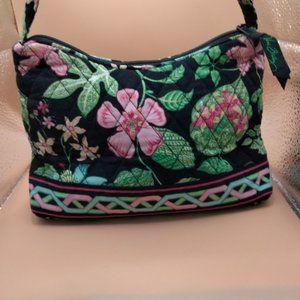 "Vera Bradley ""Botanica"" Pattern Small Hobo Handbag"
